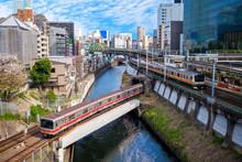Metro System Of Tokyo City, Ja...