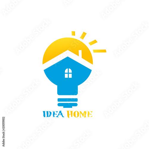 Idea House Logo Buy This Stock Vector And Explore Similar