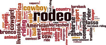 Rodeo Word Cloud