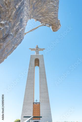 Foto op Plexiglas Monument Cristo Rei Monument in Almada, Lisbon Portugal