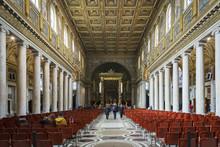 Interior Of The Basilica Of Sa...