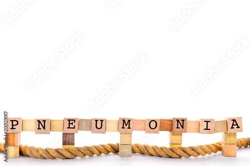 Fotografia, Obraz  Pneumonia Flu Concept