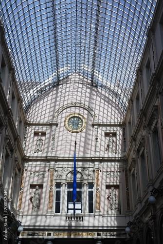 Foto op Canvas Brussel Galeries de la Reine (Centre-ville de Bruxelles)