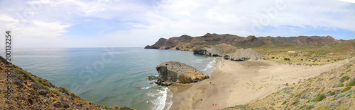 playa monsul almería panorámica 4-f18