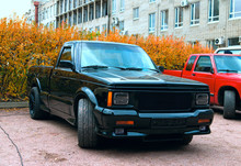 Black American Pickup