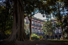 Italy, Naples. Royal Palace Built Starting From 1738 At The Behest Of King Charles Of Borbone, It Is A Royal Palace, With A Park Attached.