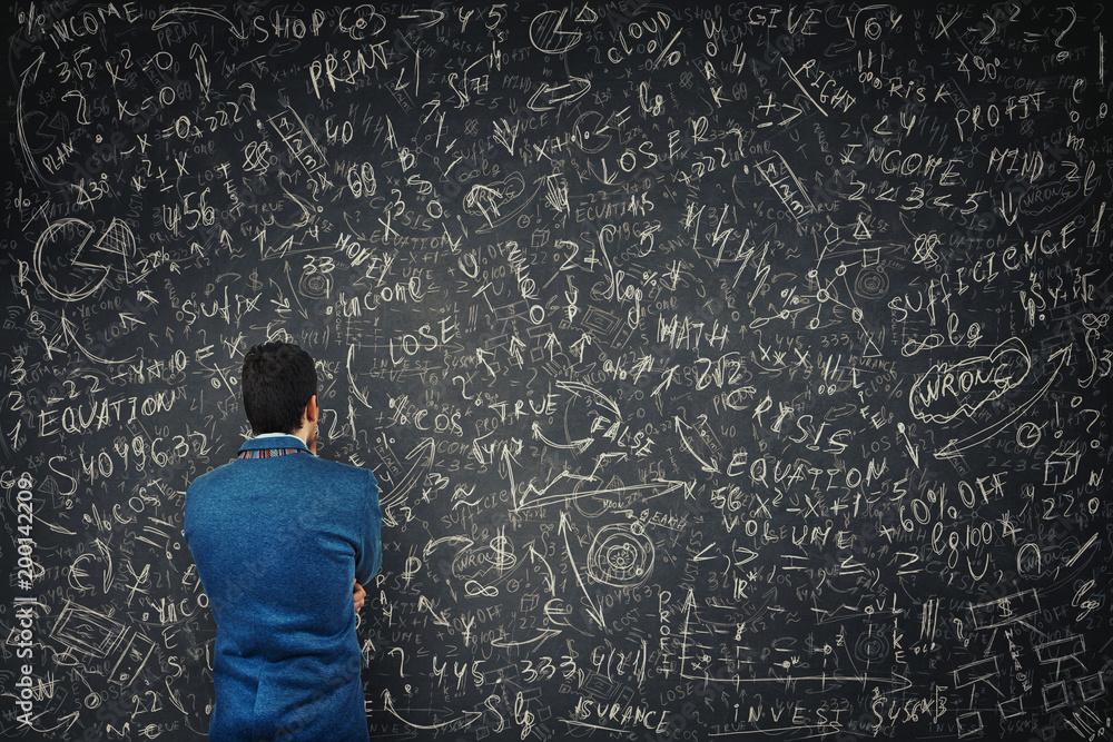 Fototapety, obrazy: solve mathematics equations