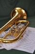 Flügelhorn mit Noten