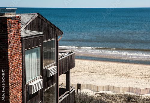 modern apartment at a beach in Montauk, Long Island, USA. Fototapeta
