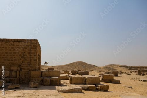 Staande foto Oude gebouw Egypt Landscape