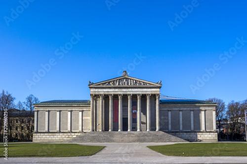 Fototapeta Korinthische Staatliche Antikensammlung, Ionische Glyptothek, Königsplatz, Münch