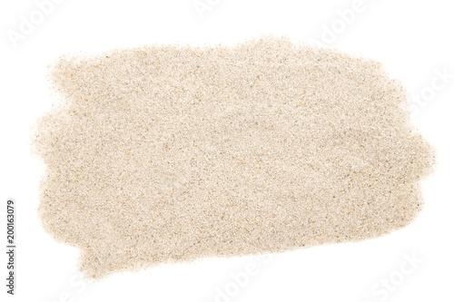 Deurstickers Stenen in het Zand Sand heap