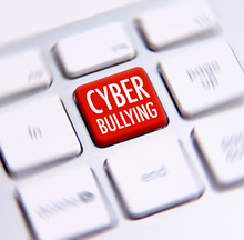 Cyber Bullying Words Written O...