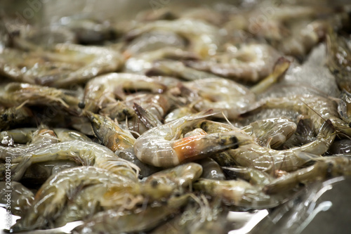 The shrimp used to Cook several delicious and there are benefits to the body