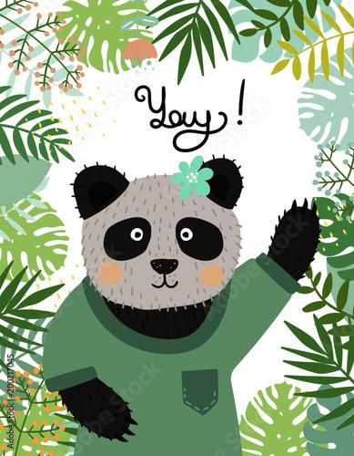 cute-panda-baby-character-recznie-rysowane
