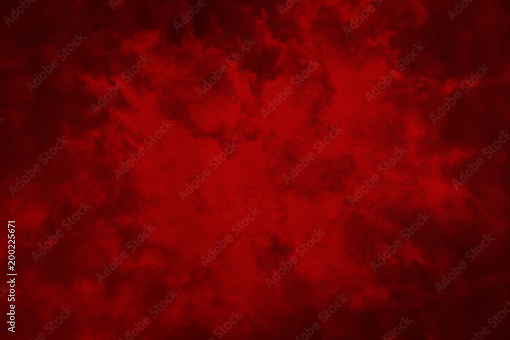 Fototapety, obrazy: Red abstract grunge background