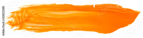 orange paint texture painting art on paper, abstract background, splashing, paint, ink, drop, stein round. with the texture of the brush - 200232081