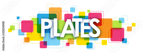 Photo  PILATES Colourful Letters Icon