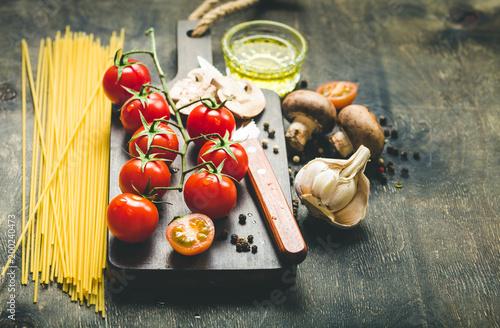 Foto op Aluminium Koken Cooking food process