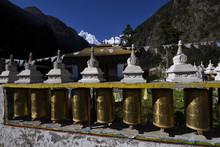 Temple Prayer Wheels