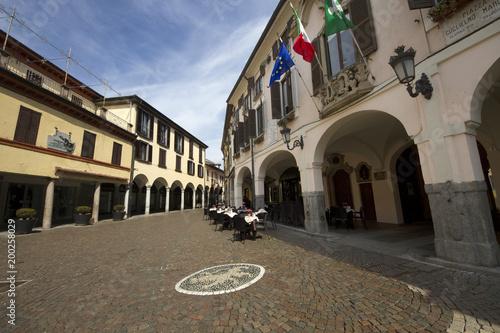 Abbiategrasso, Lombardy, Italy Canvas Print