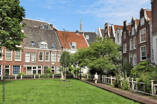 Photo Begijnhof in Amsterdam, Netherlands