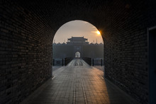The Ancient Wall In Yangzhou C...