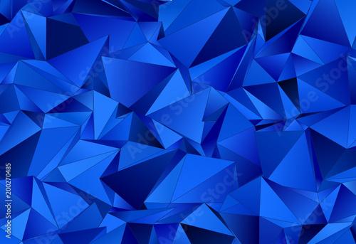 Foto op Aluminium ZigZag Abstract background 3d