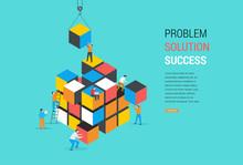 Cube Puzzle Solution Solving P...