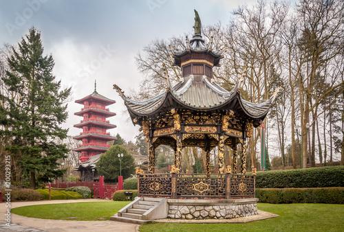 Fotografie, Obraz  Parc de Laeken à Bruxelles
