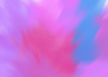 Colorful Pink And Blue Vortex Abstraction. Bright Futuristic Whirl Art Wallpaper. Creativity Digital Artwork In Fantasy Style. Twisted Glow Graphic Painting Texture Background. Blur Motion Design.