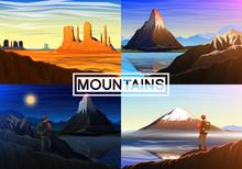 Mountain Everest, Matterhorn, ...