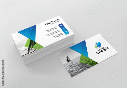 Green and blue business card layout buy this stock template and green and blue business card layout colourmoves
