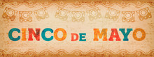 Cinco De Mayo Fun Mexican Typography Web Banner