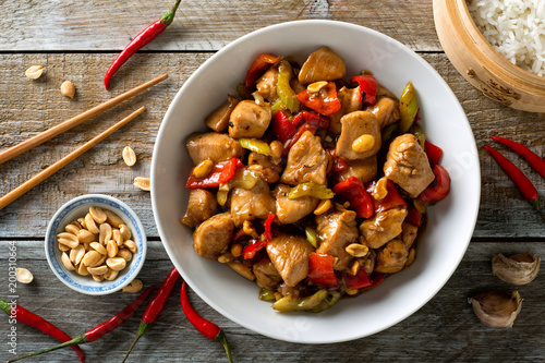 Poster Ready meals Kung Pao Chicken