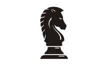 Black Chess Knight Horse Silho...