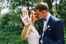 Funny Wedding Picture.Bride An...