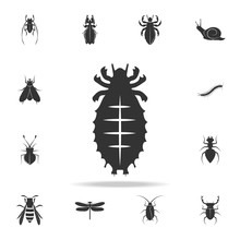 Mite. Detailed Set Of Insects Items Icons. Premium Quality Graphic Design. One Of The Collection Icons For Websites, Web Design, Mobile App