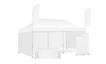 Pop Up Canopy Tent With Two Fl...