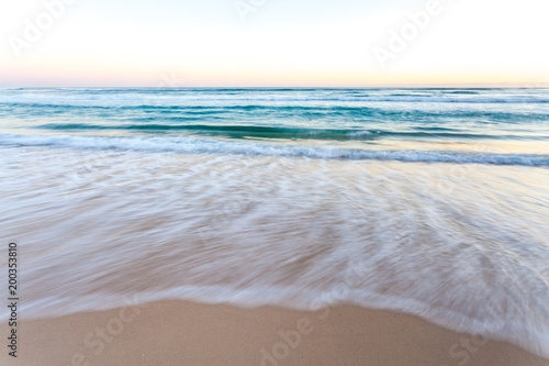 Fototapety, obrazy: Ocean Waves Early Morning