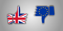 Great Britain Flag Thumbs Up A...
