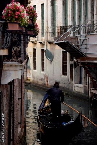 Fotografie, Obraz  Canais de Veneza