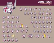 Crusader Cartoon Game Characte...