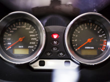 Motorbike Control Panel With S...