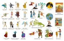 Greek Gods And Mythology Colle...