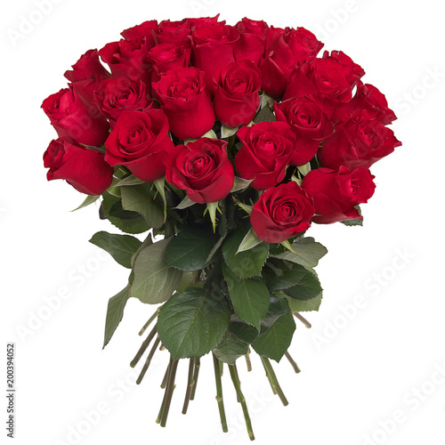 Fotomural Bouquet of red roses