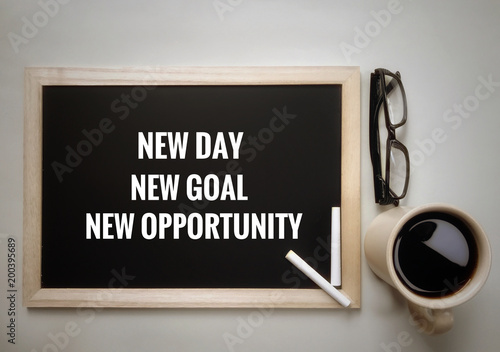 Motivational And Inspirational Quotes New Day New Goal New