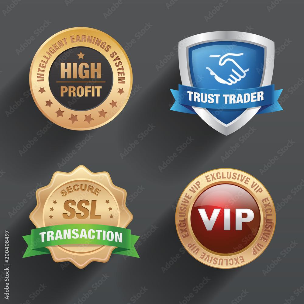 Fototapeta Badge & seal design