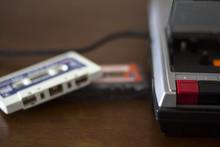 Vintage Cassette Tape Player W...