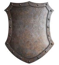 Metal Medieval Tall Shield Or ...
